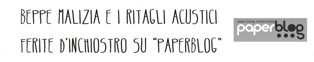 ferite d'inchiostro paperblog